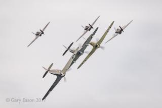 Six Hurricanes Duxford Gary Eason _DSC1981