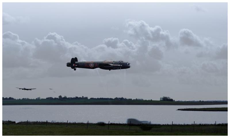 Dambusters Lancasters at Abberton Gary Eason sm