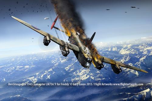 Lancaster-LM756-PG-F-shot-down-Gary-Eason-sm