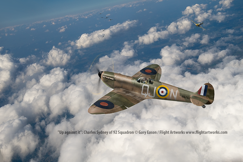 Up-against-it-Charles-Sydney-Spitfire-Gary-Eason-SM