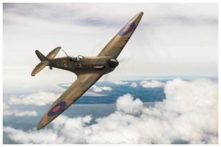 Al Deere Spitfire Kiwi III North Foreland Gary Eason