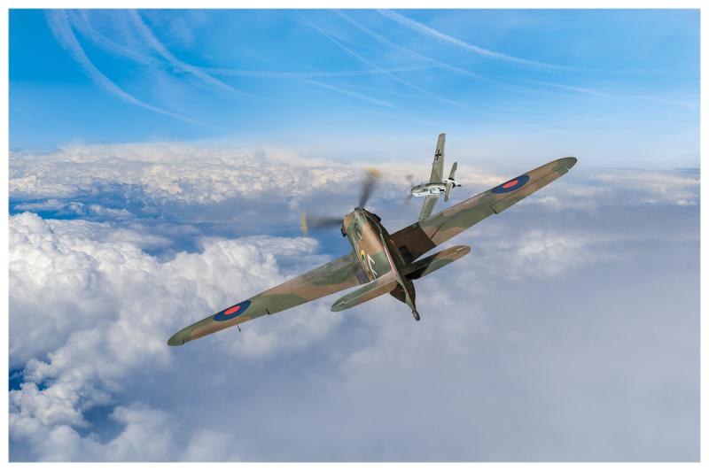Hawker Hurricane deflection Gary Eason _GE07328