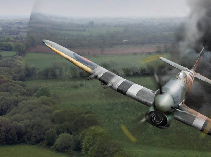 Hawker Typhoon shockwave detail Gary Eason sm